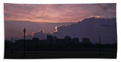 Rosslyn Skyline Beach Towel