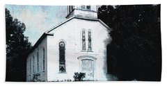 Rossville Church And Cemetery Beach Towel
