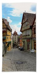 Rothenburg Ob Der Tauber Beach Towel