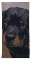 Rottweiler Dog Beach Sheet