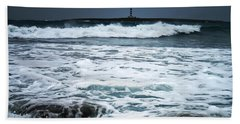 Coastal Storm Beach Towel