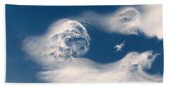 Round Clouds Beach Sheet