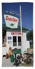 Route 66 - Sinclair Station Beach Towel