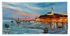 Rovanij Harbour Beach Towel