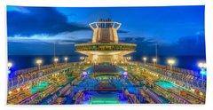 Royal Carribean Cruise Ship  Beach Towel