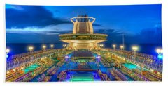 Royal Carribean Cruise Ship  Beach Sheet
