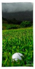 Beach Towel featuring the photograph Royal Hawaiian Golf by Angela DeFrias