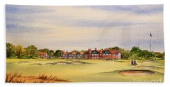 Royal Lytham And St Annes Golf Course Beach Towel