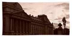 Royal Palace Brussels Beach Sheet