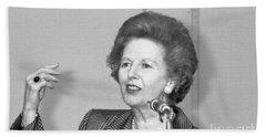Rt.hon. Margaret Thatcher Beach Towel