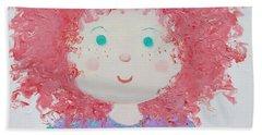 Ruby Beach Towel by Jan Matson