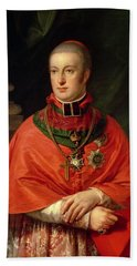 Rudolf Of Habsburg, Archduke Of Austria 1788-1831, Youngest Son Of Leopold II 1747-93, In Cardinals Beach Towel