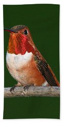 Rufous Hummingbird Beach Sheet