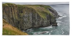 Rugged Landscape Beach Towel by Eunice Gibb