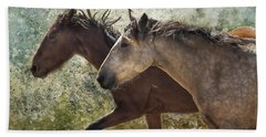 Running Free - Pryor Mustangs Beach Sheet