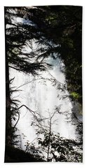 Rushing Through The Trees Beach Towel