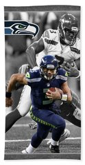 Russell Wilson Seahawks Beach Sheet