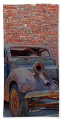Beach Sheet featuring the photograph Rust In Goodland by Lynn Sprowl