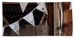 Rustic Bunting Beach Sheet