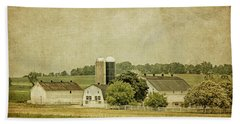 Rustic Farm - Barn Beach Sheet