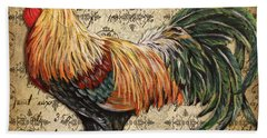 Rustic Rooster-jp2121 Beach Sheet