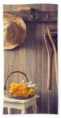Rustic Shed Beach Towel