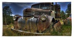 Rusty Relic Beach Sheet