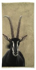 Sable Beach Towel by James W Johnson