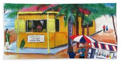 Sabor A Puerto Rico Beach Sheet by Luis F Rodriguez