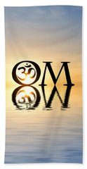 Sacred Aum Beach Towel