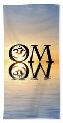 Sacred Aum Beach Sheet