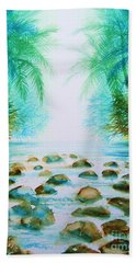 Sacred Pools Beach Towel