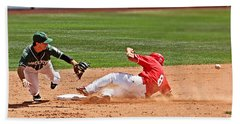 Safe At Second Beach Towel