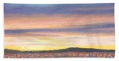 Sagebrush Sunset B Beach Sheet