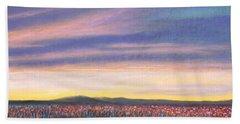 Sagebrush Sunset C Beach Sheet