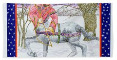 Sagittarius Wc On Paper Beach Towel