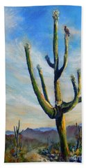 Saguaro Cacti Beach Towel
