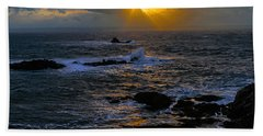 Sail Rock Sunrise Beach Towel