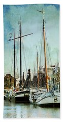 Sailboats Beach Towel