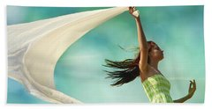 Sailing A Favorable Wind Beach Towel