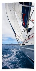 Sailing Bvi Beach Towel