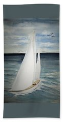 Sailing Beach Sheet by Elvira Ingram