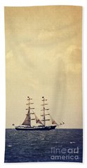 Sailing II Beach Towel