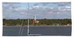 Sailing Past Netley Beach Sheet