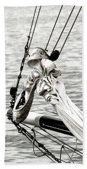 Sailing The Seven Seas Beach Sheet