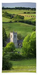 Beach Towel featuring the photograph Saint Andrews - Cotswolds by Brian Jannsen