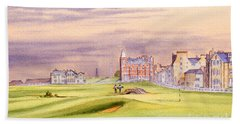 Saint Andrews Golf Course Scotland - 17th Green Beach Towel