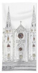Saint Patrick's Cathedral Beach Towel