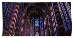 Sainte Chapelle Beach Towel