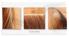 Salon D'equus Light Beach Towel